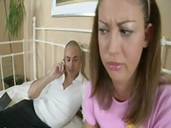 Pleasant beauty getting screwed