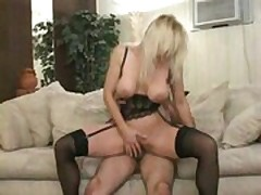 Mature Mother Seduces Her Son