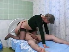 Mature fucks with his son