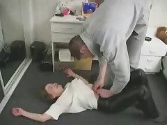 Mom Son Sex in the Kitchen