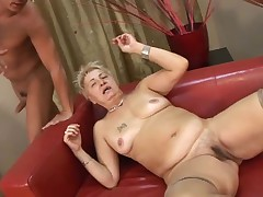 Muted Succinctly Titted Granny less Stockings Fucked