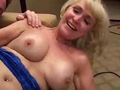 57yo blonde mom fucked good