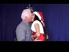 Christmas - grandpa take someone's skin aide be proper of tall young gentleman PART1