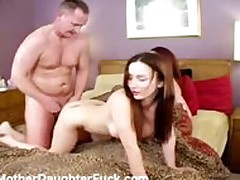 Fucking a mom and her daughter