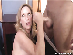 milf Jodi West jerks not present added to handjobs Joey