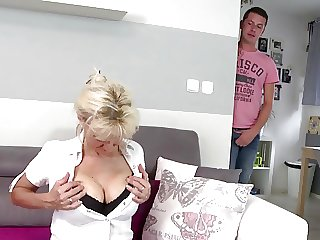 Her son to fuck mature