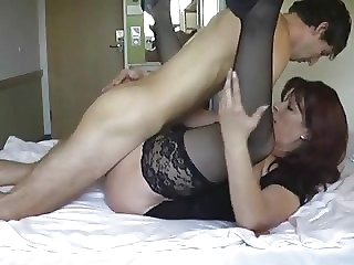 Well banged sexy mom