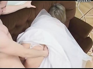 Milf babe brually abused