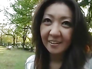 Mature mom Oonishi fucked in ass