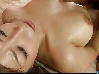 Naho girl getting threesome sex