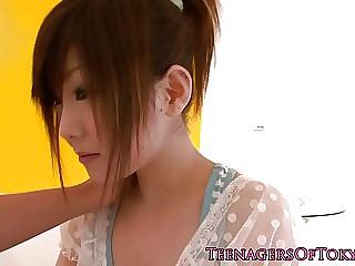 Miku blowing doctor`s peter
