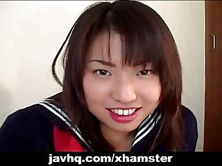 Japanese whore at homemade action