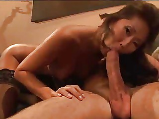 Stockinged Korean slut porn