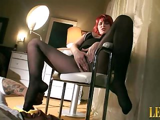 Waiting On Her Foot Fetish Slave