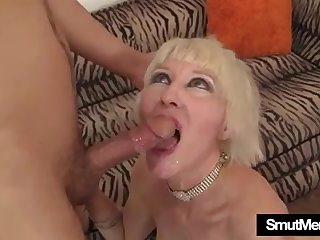Mature MILF Dalny Marga hardcore sex