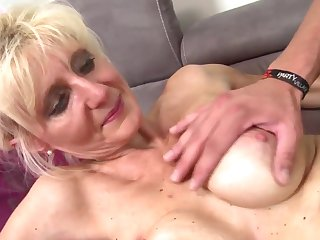 Hot real mom