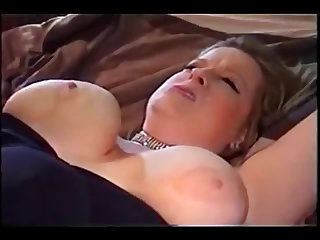 Busty BBW cuckolds her husband