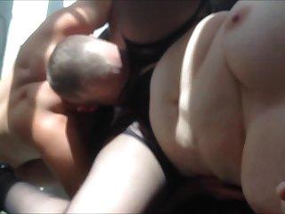 Busty mature wife cuckolds he hubby