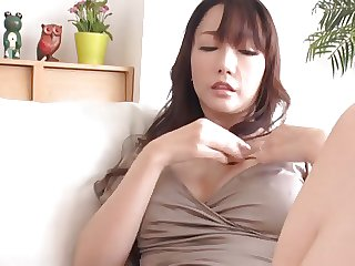 Japanese Uncensored Hotwife Fucks 2 Cocks