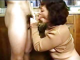 Japanese Mom And Son's friend 7