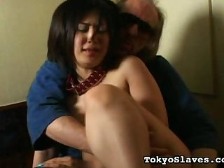 Japanese Group Grope1