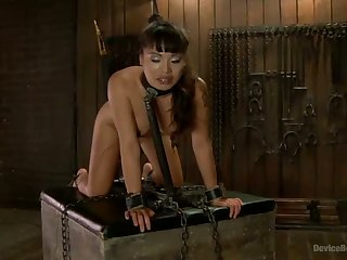 Asian Whore is Fucked into Oblivion