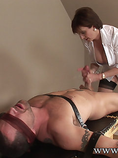 12 of Lady Sonia strapped down and fucked hard