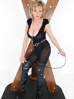 <!–-IMAGE_COUNT-–> of Lady Sonia body stocking and thigh boots