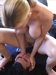 6 of Nicole Sheridan in a Facesitting Action With Stranger