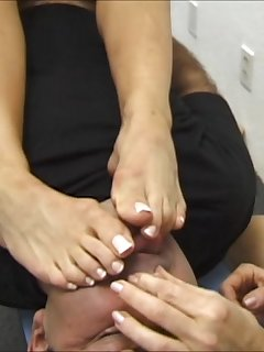 <!–-IMAGE_COUNT-–> of Two Girls Double Trample in Action