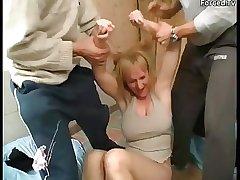 Gang fuck a housewife