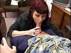 Office titty fucking